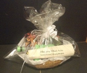 heritage days prize pack basket